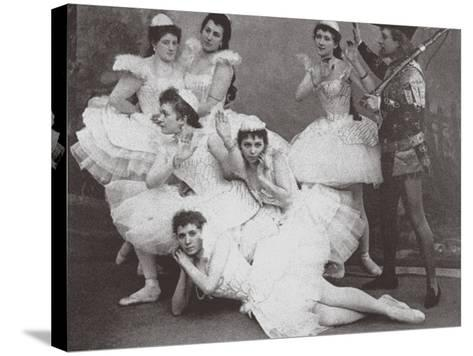 Swan Lake, Mariinsky Theatre, 1895--Stretched Canvas Print