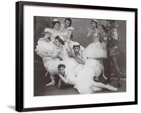 Swan Lake, Mariinsky Theatre, 1895--Framed Art Print