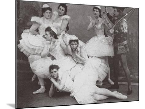 Swan Lake, Mariinsky Theatre, 1895--Mounted Photographic Print
