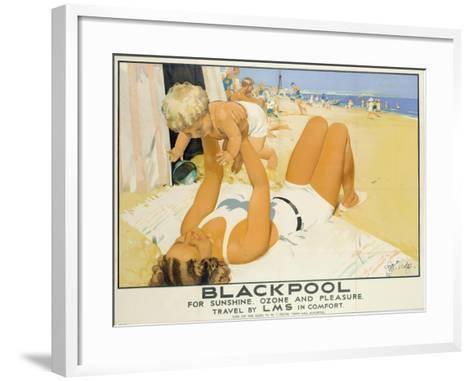 Blackpool-Septimus Edwin Scott-Framed Art Print