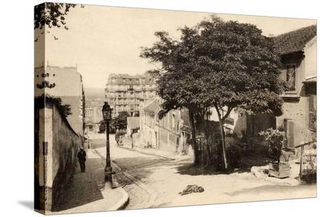 The Lapin Agile, Butte Montmartre, Rue Des Saules, Paris, C.1900--Stretched Canvas Print