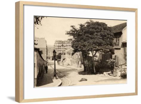 The Lapin Agile, Butte Montmartre, Rue Des Saules, Paris, C.1900--Framed Art Print