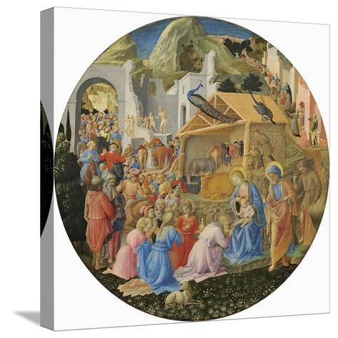 The Adoration of the Magi, C.1440-60-Fra Angelico-Stretched Canvas Print