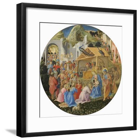 The Adoration of the Magi, C.1440-60-Fra Angelico-Framed Art Print