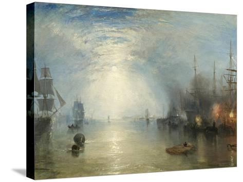 Keelmen Heaving in Coals by Moonlight, 1835-J^ M^ W^ Turner-Stretched Canvas Print