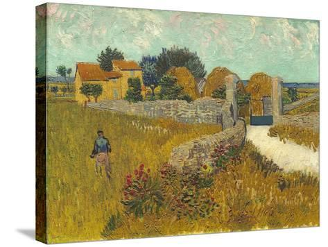 Farmhouse in Provence, 1888-Vincent van Gogh-Stretched Canvas Print