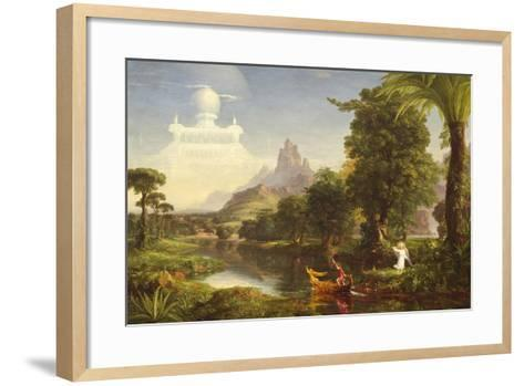 The Voyage of Life: Youth, 1842-Thomas Cole-Framed Art Print