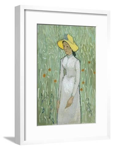 Girl in White, 1890 Giclee Print by Vincent van Gogh | Art.com