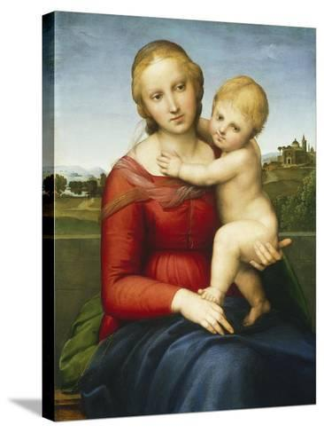 The Small Cowper Madonna, C.1505-Raphael-Stretched Canvas Print