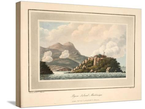 Pigeon Island, Martinique, Illustration from 'An Account of the Campaign in the West Indies' by…-Cooper Willyams-Stretched Canvas Print