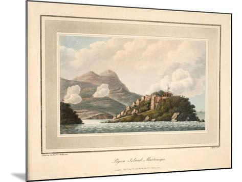 Pigeon Island, Martinique, Illustration from 'An Account of the Campaign in the West Indies' by…-Cooper Willyams-Mounted Giclee Print