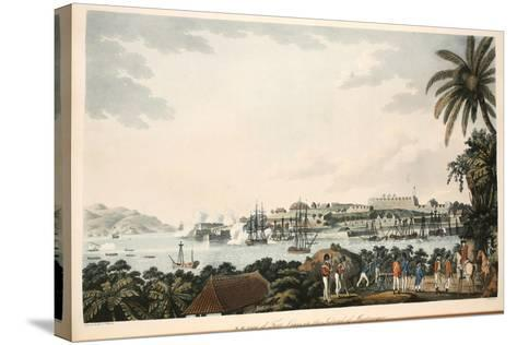 N.E. View of Fort Louis in the Island of Martinique, Illustration from 'An Account of the?-Cooper Willyams-Stretched Canvas Print
