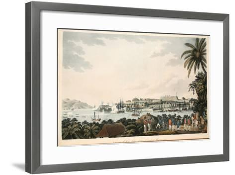 N.E. View of Fort Louis in the Island of Martinique, Illustration from 'An Account of the?-Cooper Willyams-Framed Art Print