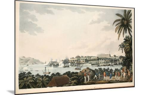 N.E. View of Fort Louis in the Island of Martinique, Illustration from 'An Account of the?-Cooper Willyams-Mounted Giclee Print