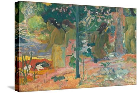 The Bathers, 1897-Paul Gauguin-Stretched Canvas Print