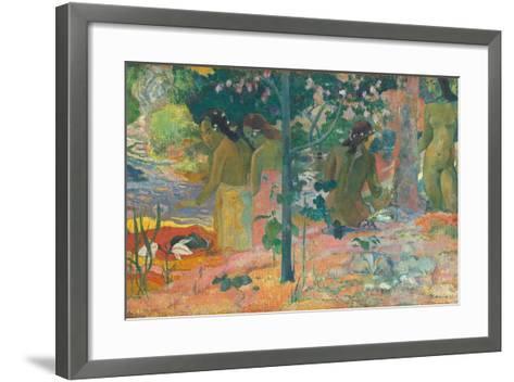 The Bathers, 1897-Paul Gauguin-Framed Art Print