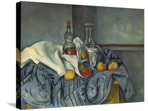 The Peppermint Bottle, 1893-95-Paul C?zanne-Stretched Canvas Print