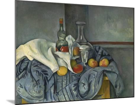 The Peppermint Bottle, 1893-95-Paul C?zanne-Mounted Giclee Print