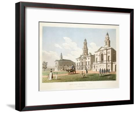 Blue-Coat Hospital, Dublin, 1798-James Malton-Framed Art Print