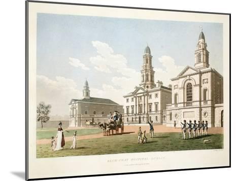 Blue-Coat Hospital, Dublin, 1798-James Malton-Mounted Giclee Print