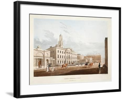 Lying-In Hospital, Dublin, 1795-James Malton-Framed Art Print