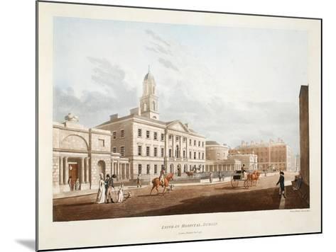 Lying-In Hospital, Dublin, 1795-James Malton-Mounted Giclee Print
