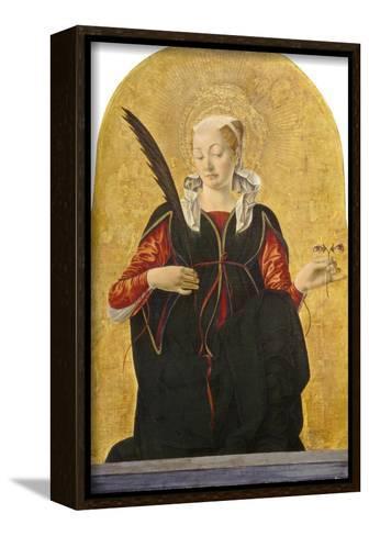St Lucy, C. 1473- 74-Francesco del Cossa-Framed Canvas Print
