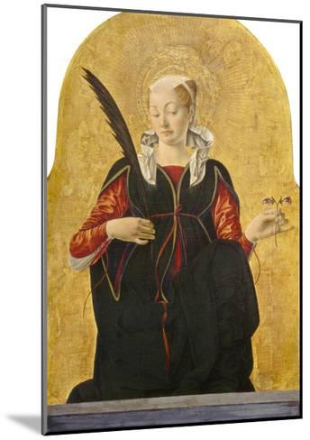 St Lucy, C. 1473- 74-Francesco del Cossa-Mounted Giclee Print
