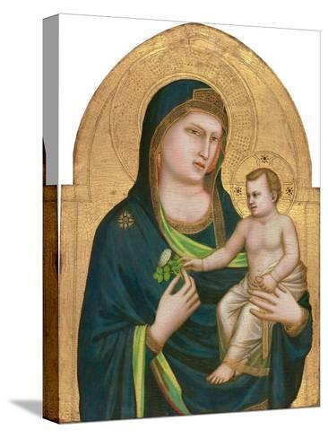 Madonna and Child, C.1320-30-Giotto di Bondone-Stretched Canvas Print