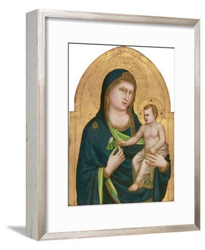 Madonna and Child, C.1320-30-Giotto di Bondone-Framed Art Print