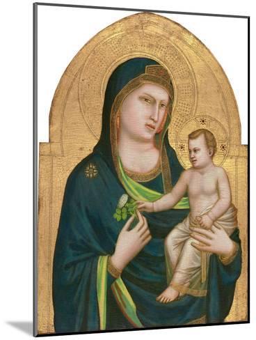 Madonna and Child, C.1320-30-Giotto di Bondone-Mounted Giclee Print