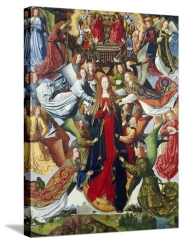 Mary, Queen of Heaven, C. 1485- 1500-Master of the Legend of St. Lucy-Stretched Canvas Print