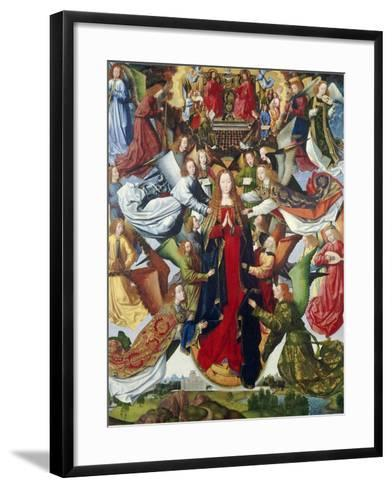Mary, Queen of Heaven, C. 1485- 1500-Master of the Legend of St. Lucy-Framed Art Print