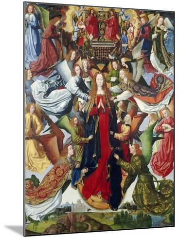 Mary, Queen of Heaven, C. 1485- 1500-Master of the Legend of St. Lucy-Mounted Giclee Print
