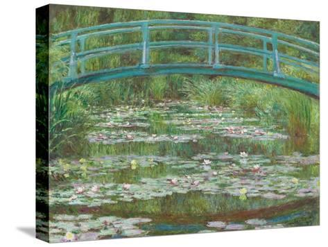 The Japanese Footbridge, 1899-Claude Monet-Stretched Canvas Print