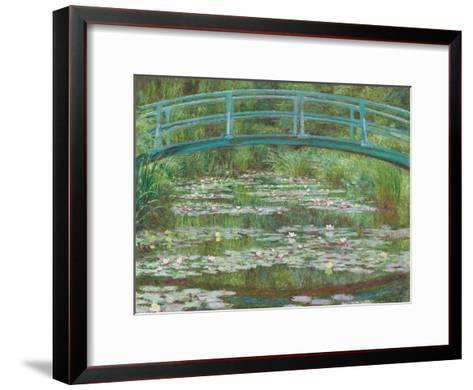 The Japanese Footbridge, 1899-Claude Monet-Framed Art Print