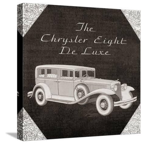 A 1930's Advertisement for a Chrysler Eight De Luxe Car. from the Literary Digest Published 1931--Stretched Canvas Print