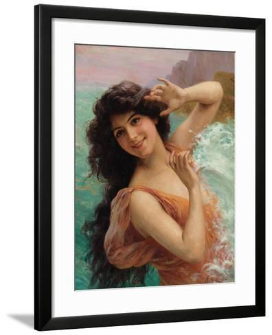 The Water Nymph-Francois Martin-kavel-Framed Art Print