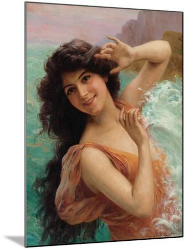 The Water Nymph-Francois Martin-kavel-Mounted Giclee Print