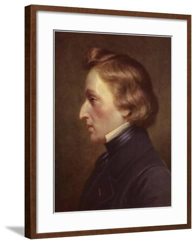 Portrait of Frederic Chopin--Framed Art Print