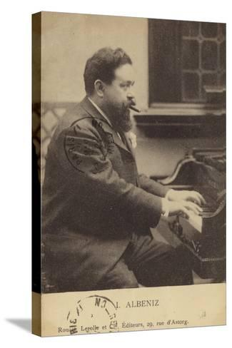 Isaac Albeniz, Spanish Pianist and Composer (1860-1909)--Stretched Canvas Print
