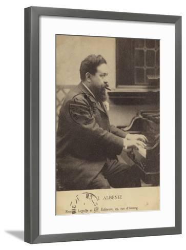 Isaac Albeniz, Spanish Pianist and Composer (1860-1909)--Framed Art Print