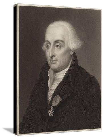 Joseph-Louis Lagrange--Stretched Canvas Print