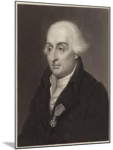Joseph-Louis Lagrange--Mounted Giclee Print