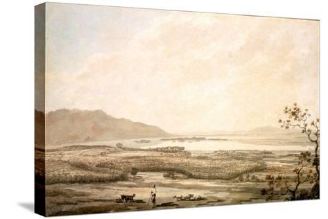 Killarney from the Hills Above Muckross-William Pars-Stretched Canvas Print