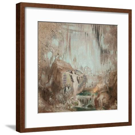The Nymph of Malham Cove-William Shackleton-Framed Art Print