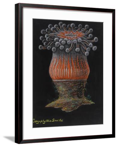 Devonshire Cup Coral-Philip Henry Gosse-Framed Art Print