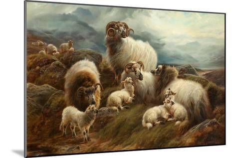 Sheep in a Landscape, 1894-Robert Watson-Mounted Giclee Print