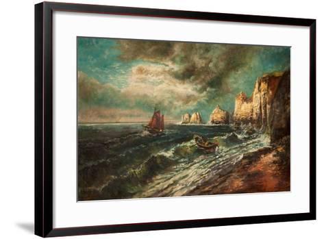 The Needles, Isle of Wight-Thomas Grimshaw-Framed Art Print