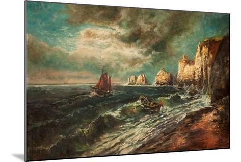 The Needles, Isle of Wight-Thomas Grimshaw-Mounted Giclee Print